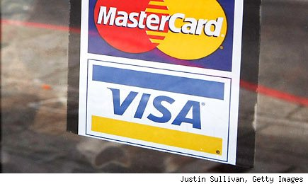 Visa and Mastercard data