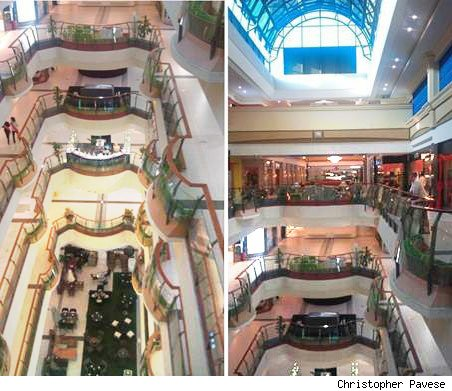China's empty mall