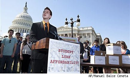 Recovery threatened by runaway student loan debt