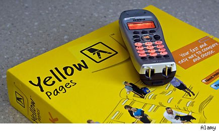 AT&T to sell most of Yellow Pages to Cerberus