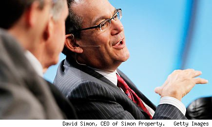 David Simon, CEO of Simon Property. Getty Images