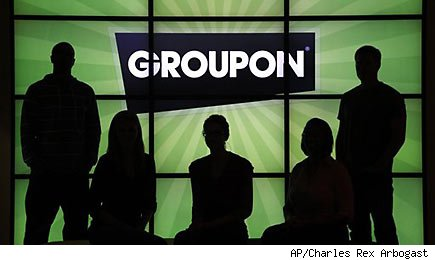 Groupon shares soar ahead of earnings report