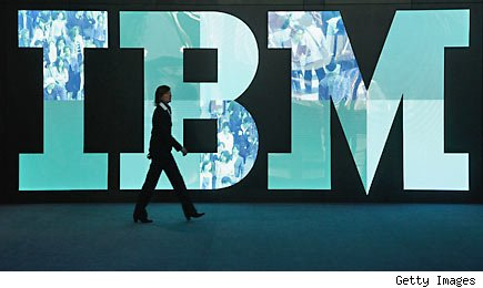 IBM's results lift Dow average to a 5-year high