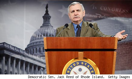 Democratic Sen. Jack Reed of Rhode Island