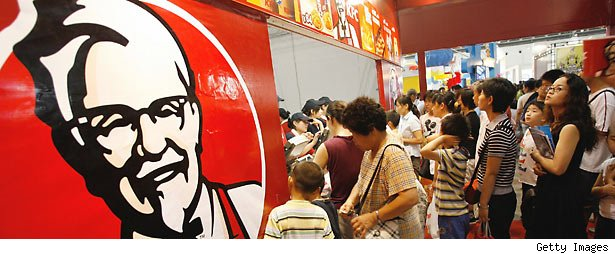 Yum Brands KFC in China