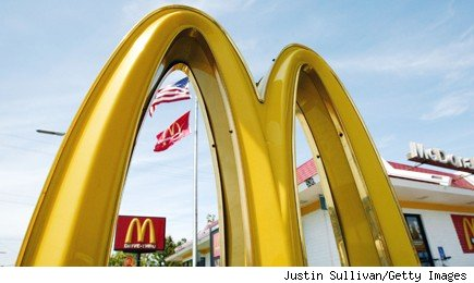 McDonald's November sales figure rises