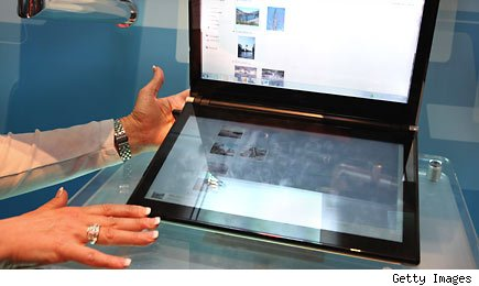 Microsoft's new touch screen laptop