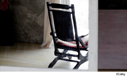 Single rocking chair