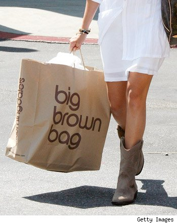 Bloomingdales shopping bag