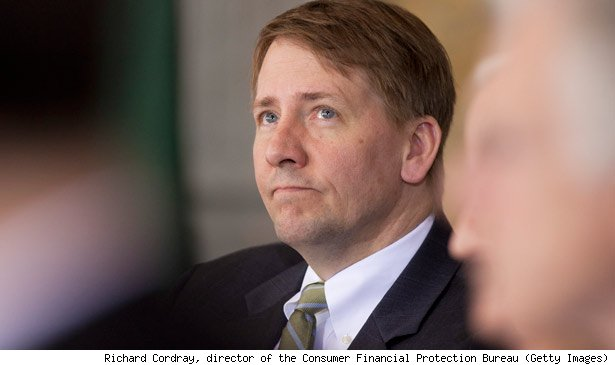Richard Cordray, director of the Consumer Financial Protection Bureau (Getty Images)