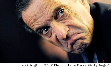Henri Proglio, CEO of Electricite de France (Getty Images)