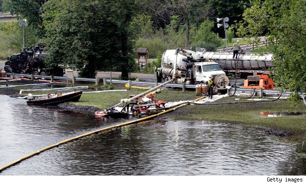 Huge Michigan Oil Spill Caused By Corporate Neglect