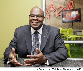 McDonald's President Don Thompson
