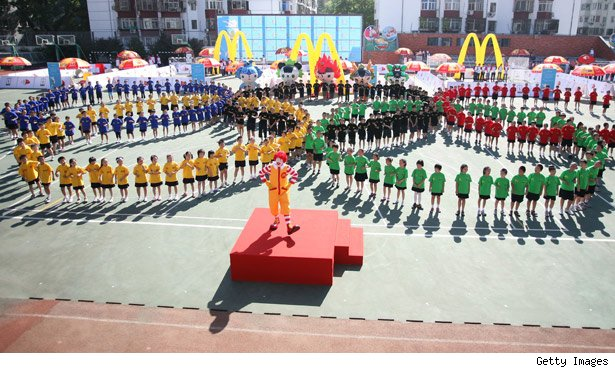McDonald's Sponsors the Olympics