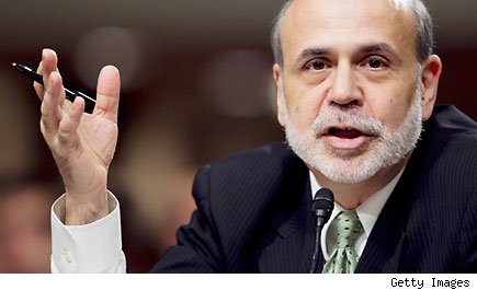 Federal Reserve Chairman Ben Bernanke Congress