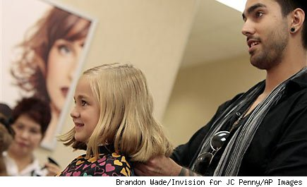 J.C. Penney brings back free haircuts for kids