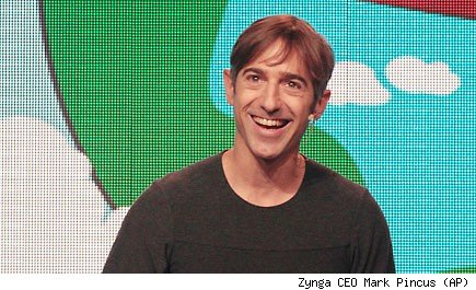 Zynga CEO Mark Pincus (AP)