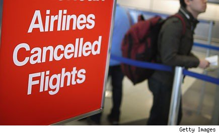 Airlines / flights cancelled