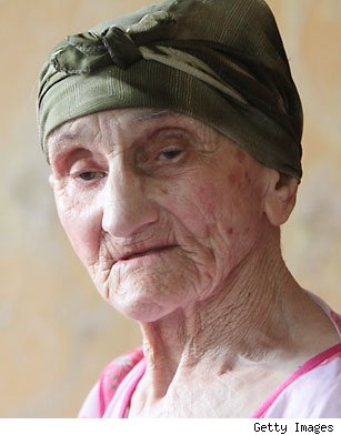 Antisa Khvichava oldest living person