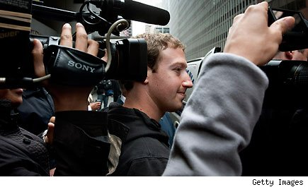 Mark Zuckerberg, founder and chief executive officer of Facebook Inc.,