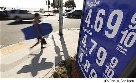 More expensive gas pushes U.S. consumer prices up