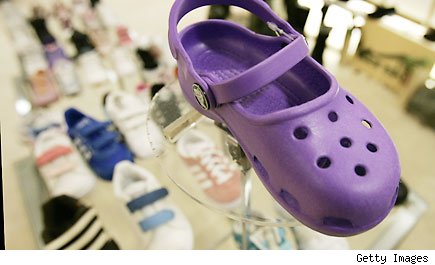 Crocs revenue