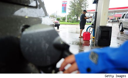 Hurricane gas prices