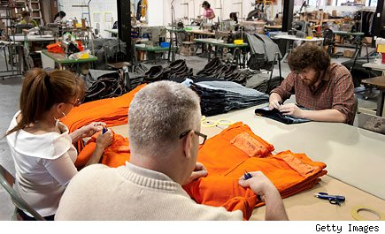 quality control at Raleigh Denim Workshop and Curatory