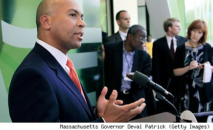 Massachusetts Governor Deval Patrick (Getty Images)