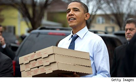 President Barack Obama Pizza