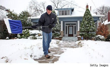 Cold weather heating costs