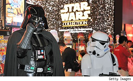 Disney buys Star Wars / Lucas Films