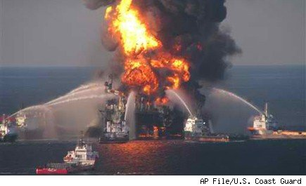 BP Gulf of Mexico Oil Spill Deepwater Horizon