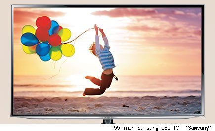  55-inch Samsung LED TV  (Samsung)