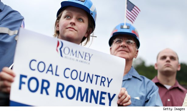 Coal Country for Mitt Romney. Beallsville, Ohio.