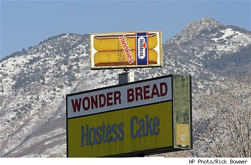Hostess says it's going out of business