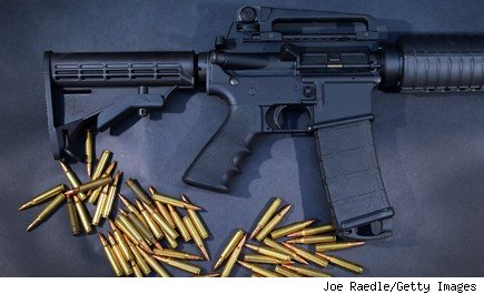 AR-15 Rifle Sandy Hook Shootings