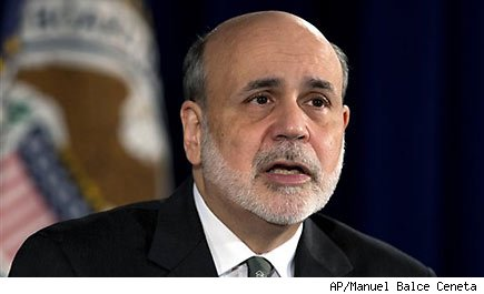 Bernanke says fiscal cliff already hurting economy