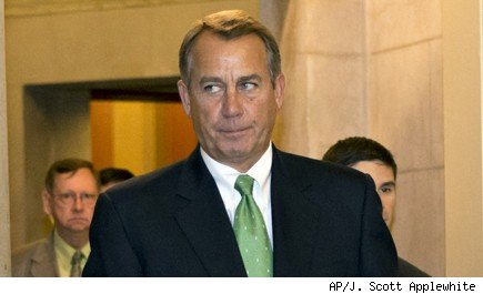 John Boehner Fiscal Cliff Talks