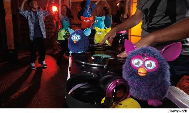 Furby top gift toy