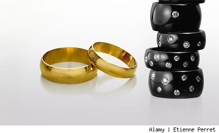 Budget-wise wedding rings for men