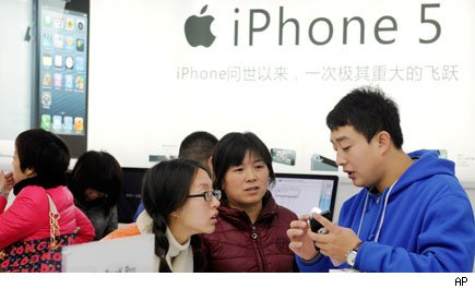 iPhone5 in China