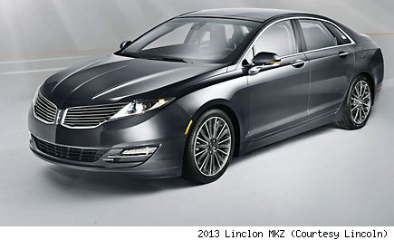 2013 Linclon MKZ (Courtesy Lincoln)