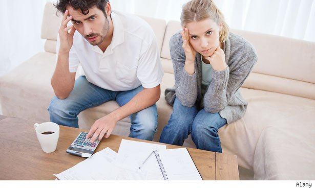 consolidating finances after marriage