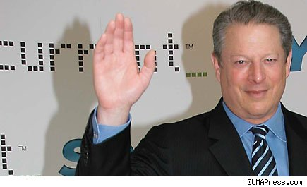 AL GORE Launches Current TV