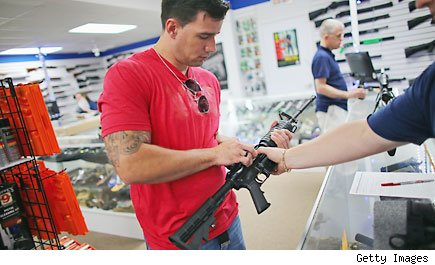 Gun shop profits