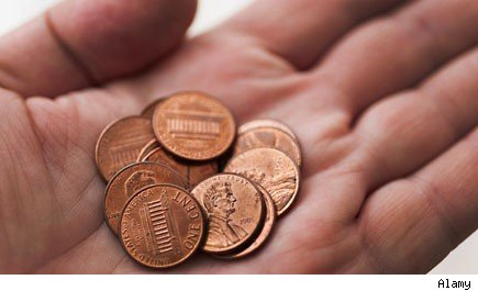 Interest pennies