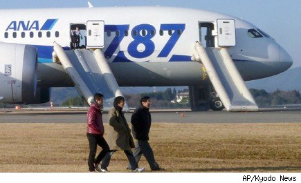 Boeing 787 Dreamliner Japan Emergency Landing