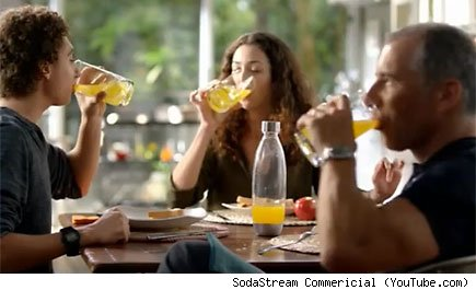 SodaStream Commericial (YouTube.com)
