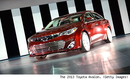 The 2013 Toyota Avalon. (Getty Images)